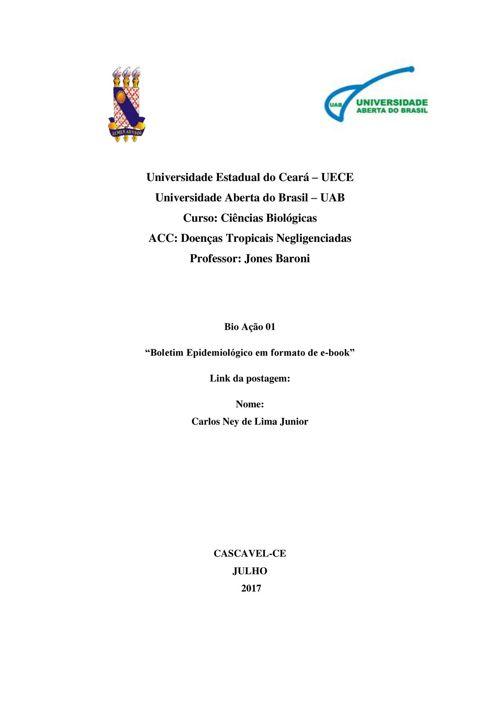 Bio Ação 1- Ebook