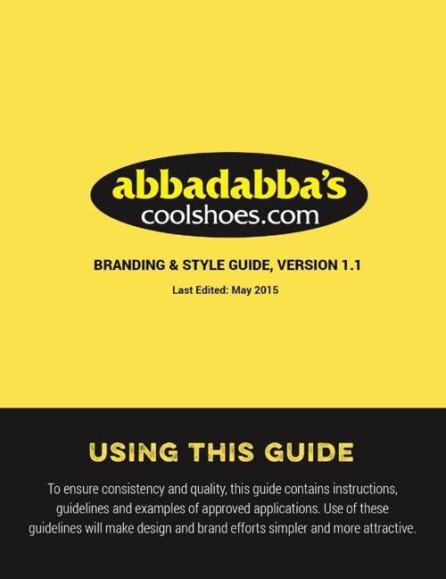 Abbadabba's Branding & Style Guide, May 2015