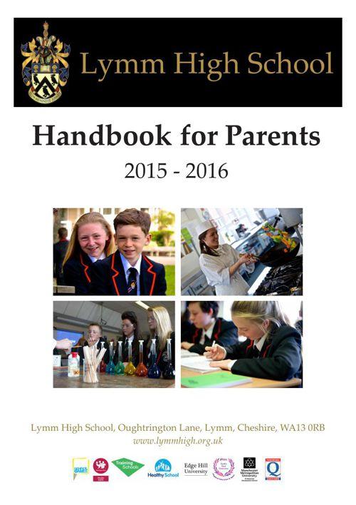 Lymm High School Handbook 2015-16