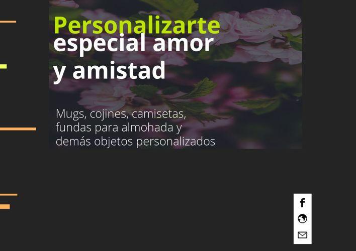 catalogo personalizarte amor y amistad
