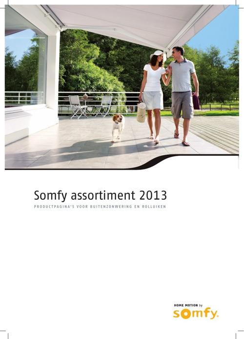 Somfy Test boek