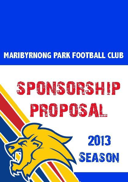 MPFC Sponsorship Proposal