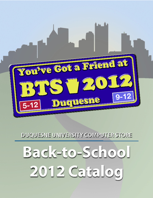 Duquesne University 2012 Back-to-School Catalog