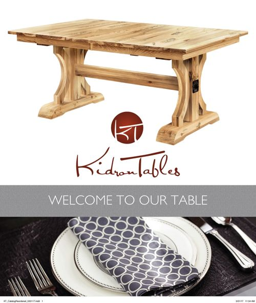 Kidron Tables - dining