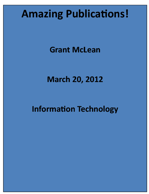 Grant McLean