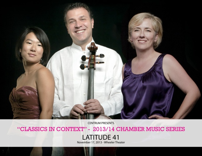 Classics In Context 1 : Centrum Foundation Chamber Series