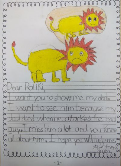 Letters to Rafiki