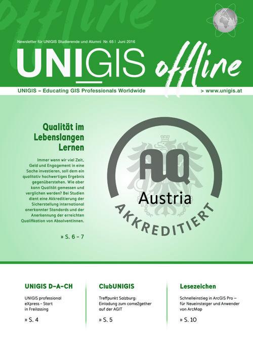 UNIGIS offline 02/2016