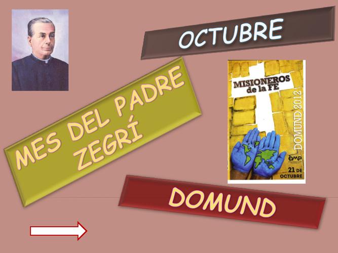 Oraciones de octubre
