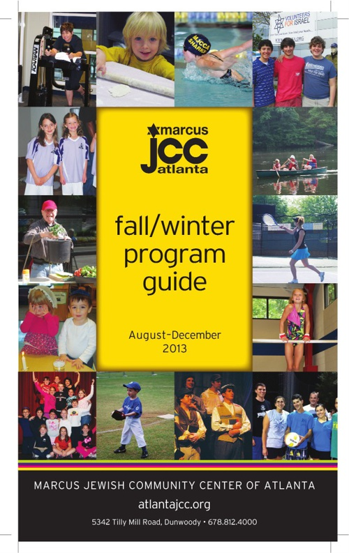 MJCCA Program Guide | Fall 2013