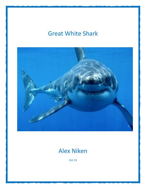 Alex's flip book