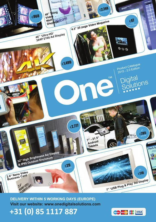 One Digital Solutions 2015 - 2.0 Edition