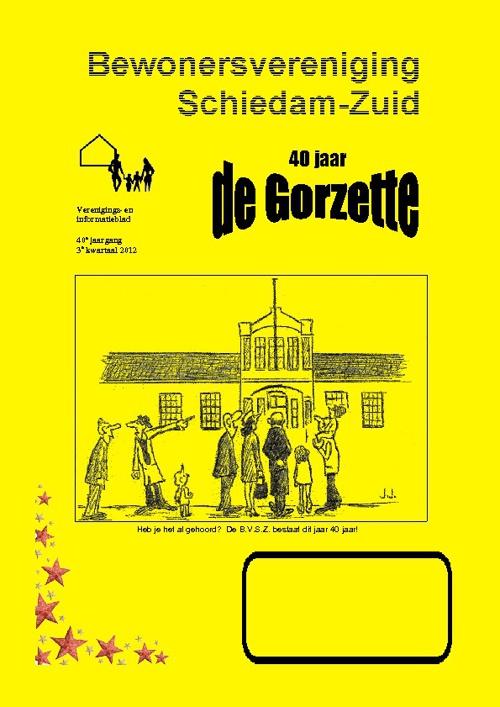 Gorzette 3e kwartaal 2012