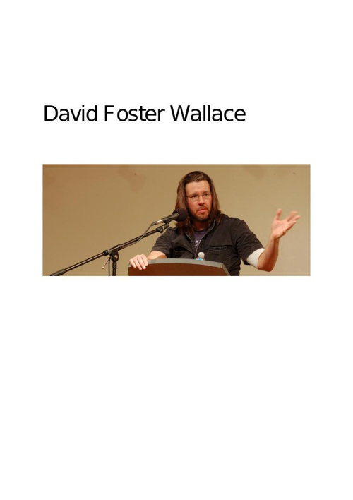 Copy of David Foster Wallace