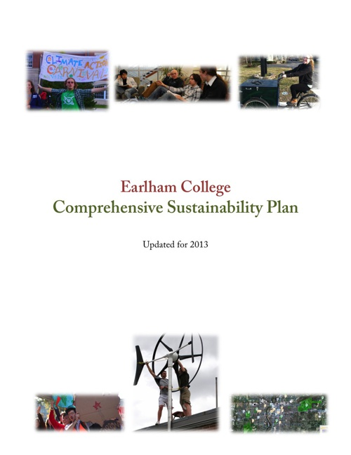 Earlham College Sustainability Plan