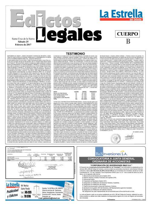 Judiciales 25 sábado - febrero 2017