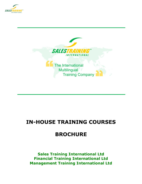2012 Training Brochure