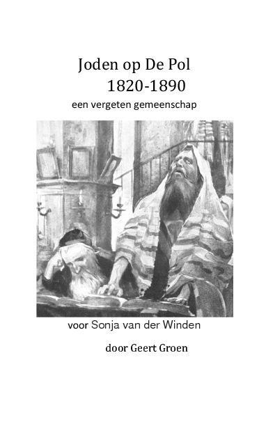 Joden op De Pol 1820-1890 door Geert Groen