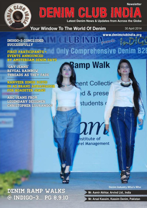 Denim Club News Letter 30 April 2014