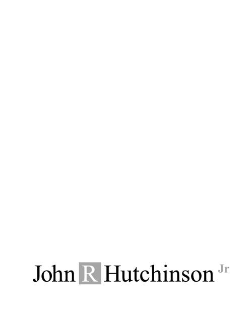 John R Hutchinson, Jr. Bio