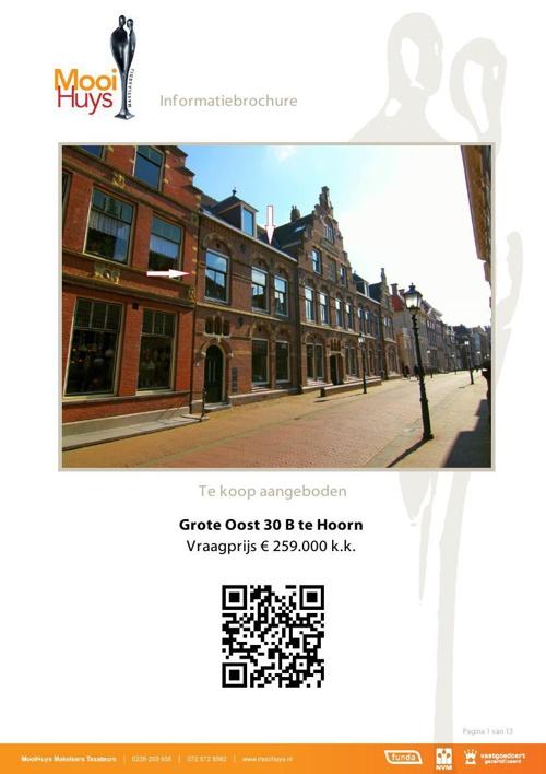 Appartement - Grote Oost 30 Hoorn