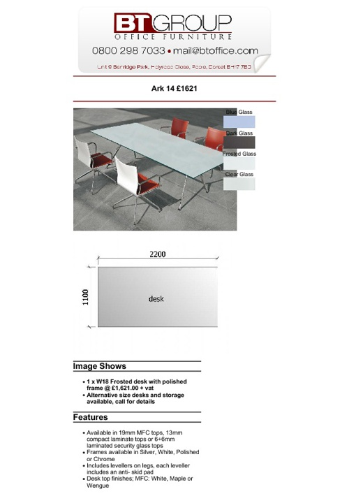 Meeting & Boardroom Tables (Products 51-100)