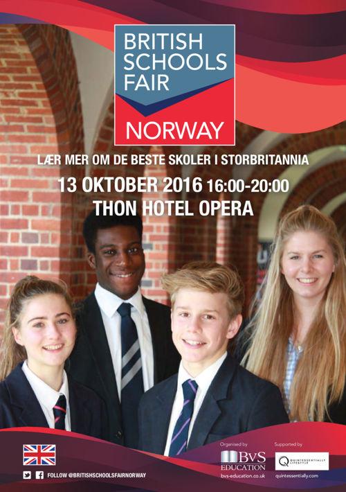 British Schools Fair Norway 2016 Guide