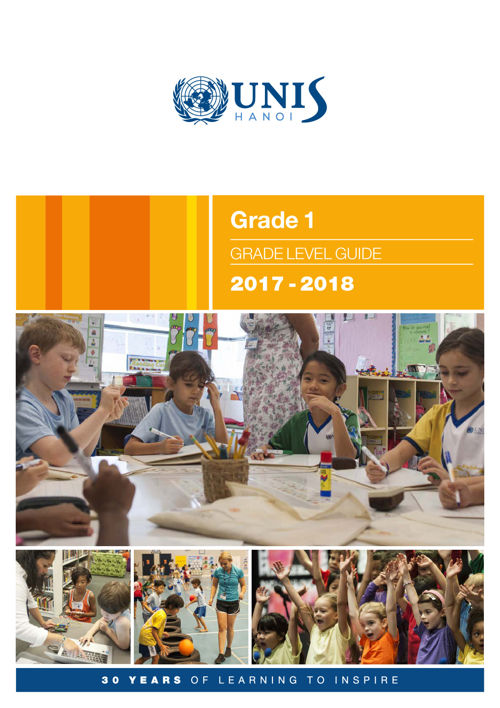Grade 1 Curriculum Guide 2017-2018