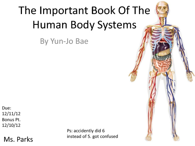 the important book about the Human body systems