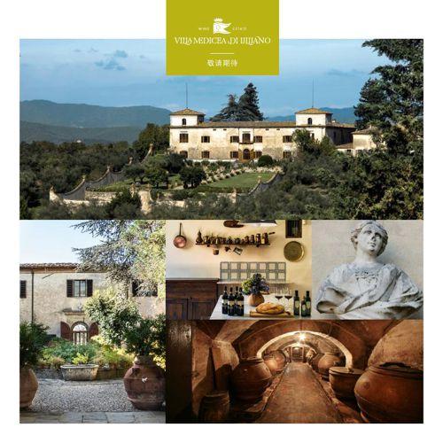 Villa Medicia di Lilliano - Chinese Edition