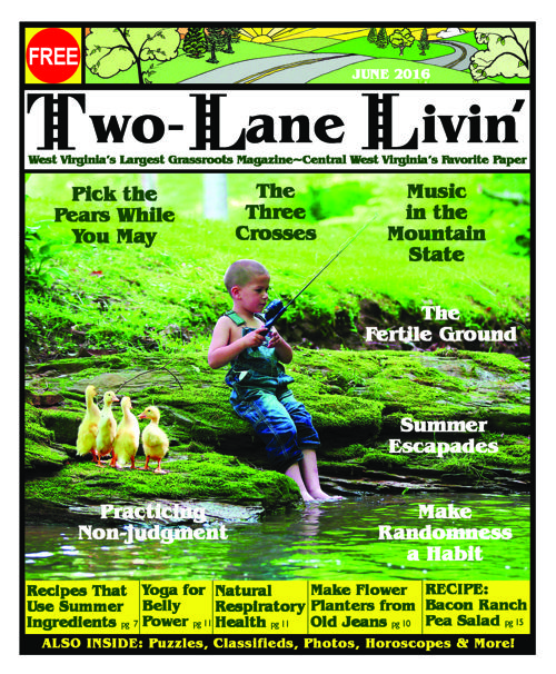 Two Lane Livin' June 2016