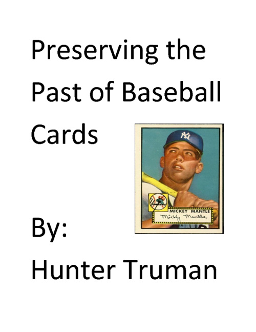 Baseball cards - Hunter