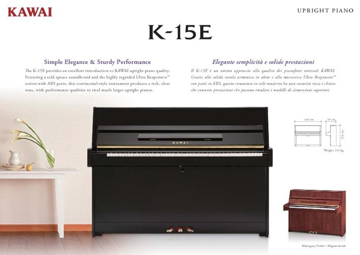 Kawai K15 Brochure