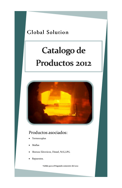 Catalogo GLOBAL SOLUTION