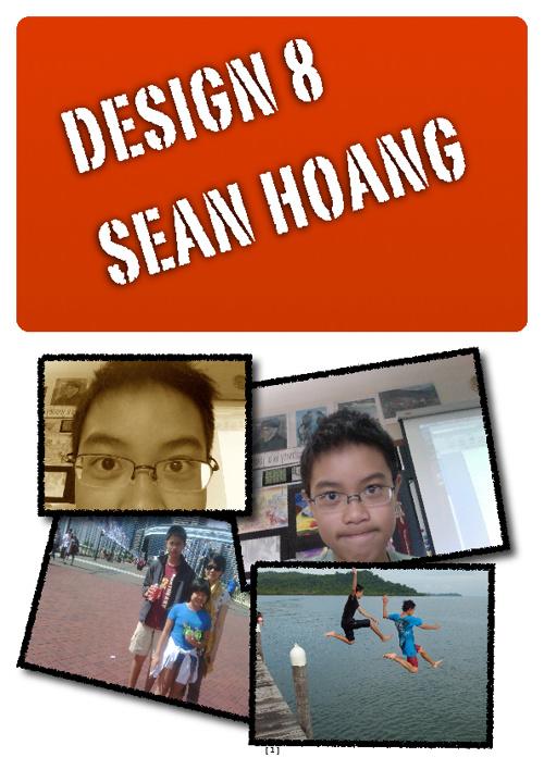 Design 8 Portfolio Sean