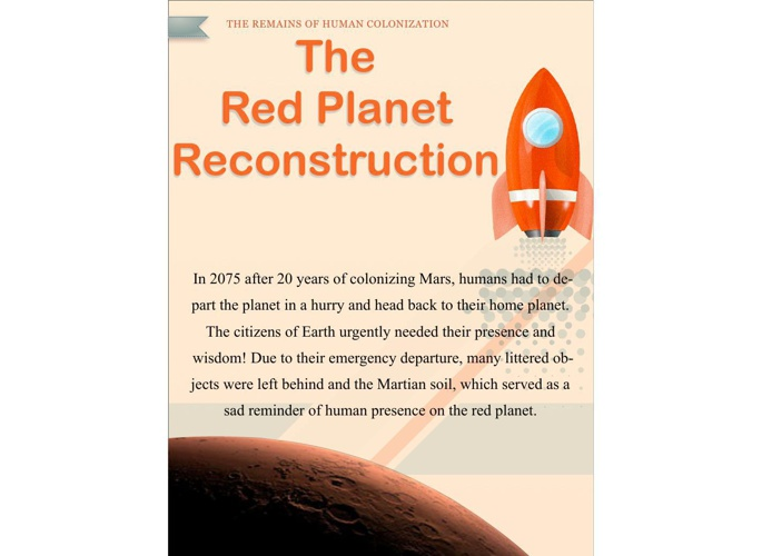 The Red Planet Reconstruction