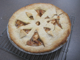 Classy apple pie