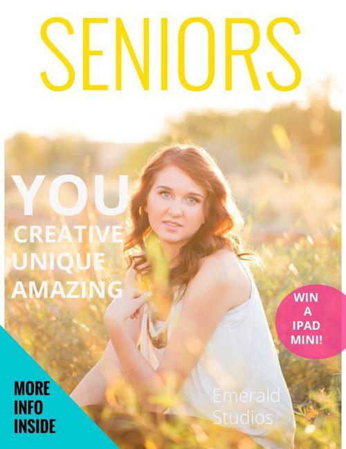 Emerald Senior Portraits Magazine