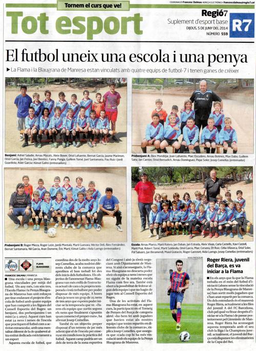 Regió7 - FLAMA futbol