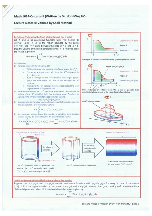 MATHS1014 Course Notes