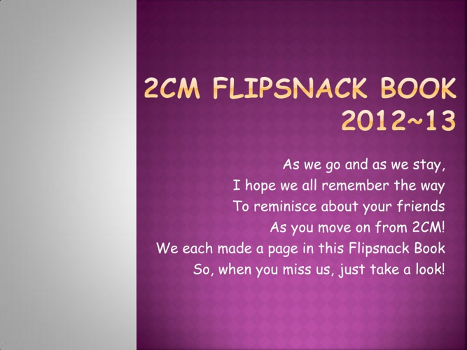Sample 2CM Flipsnack Book