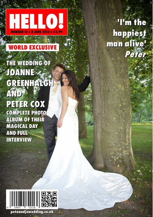 Joanne & Peter's Wedding - Hello! Magazine Special Edition