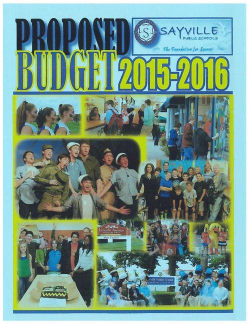 Budget Book 2015 2016