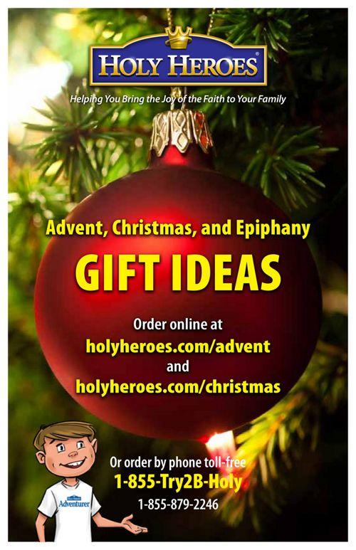 Holy Heroes Holiday Catalog 2017
