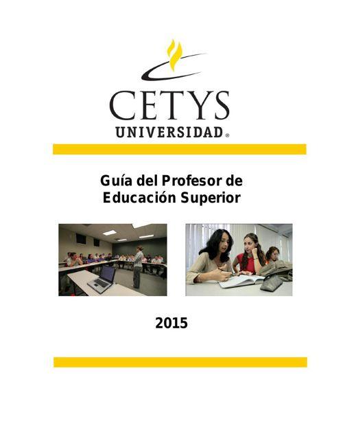GuiaDelProfesor Agosto2015