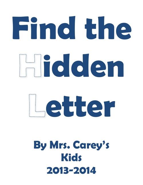 MD Carey hidden letter book '13-'14