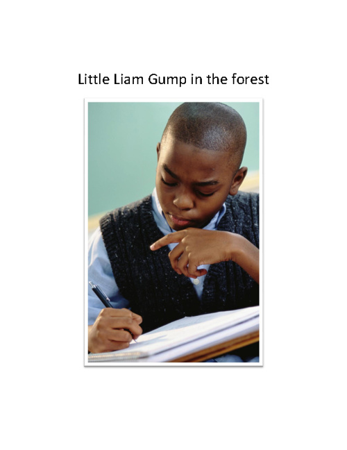 Little Liam Gump in the Forest