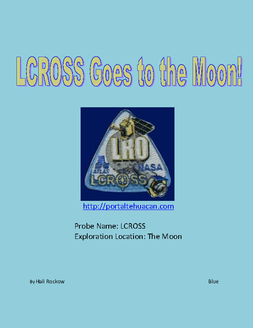 LCROSS Goes to the Moon