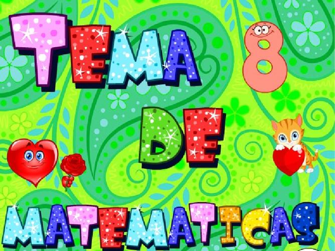 Tema 8 de matemáticas Operaciones con fracciones.