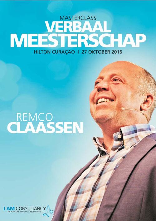 Verbaal Meesterschap Remco Claassen 2016